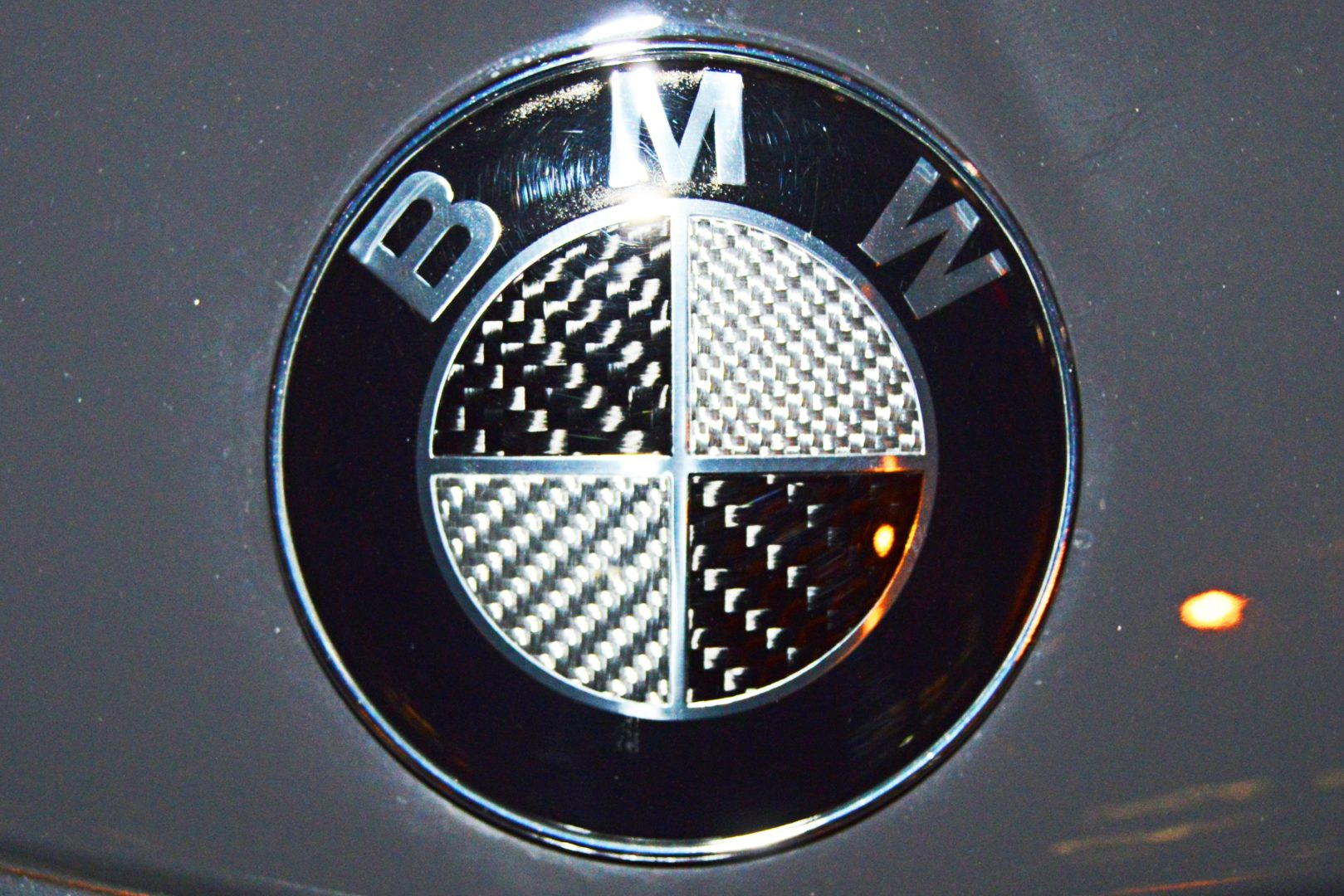 Black BMW Logo