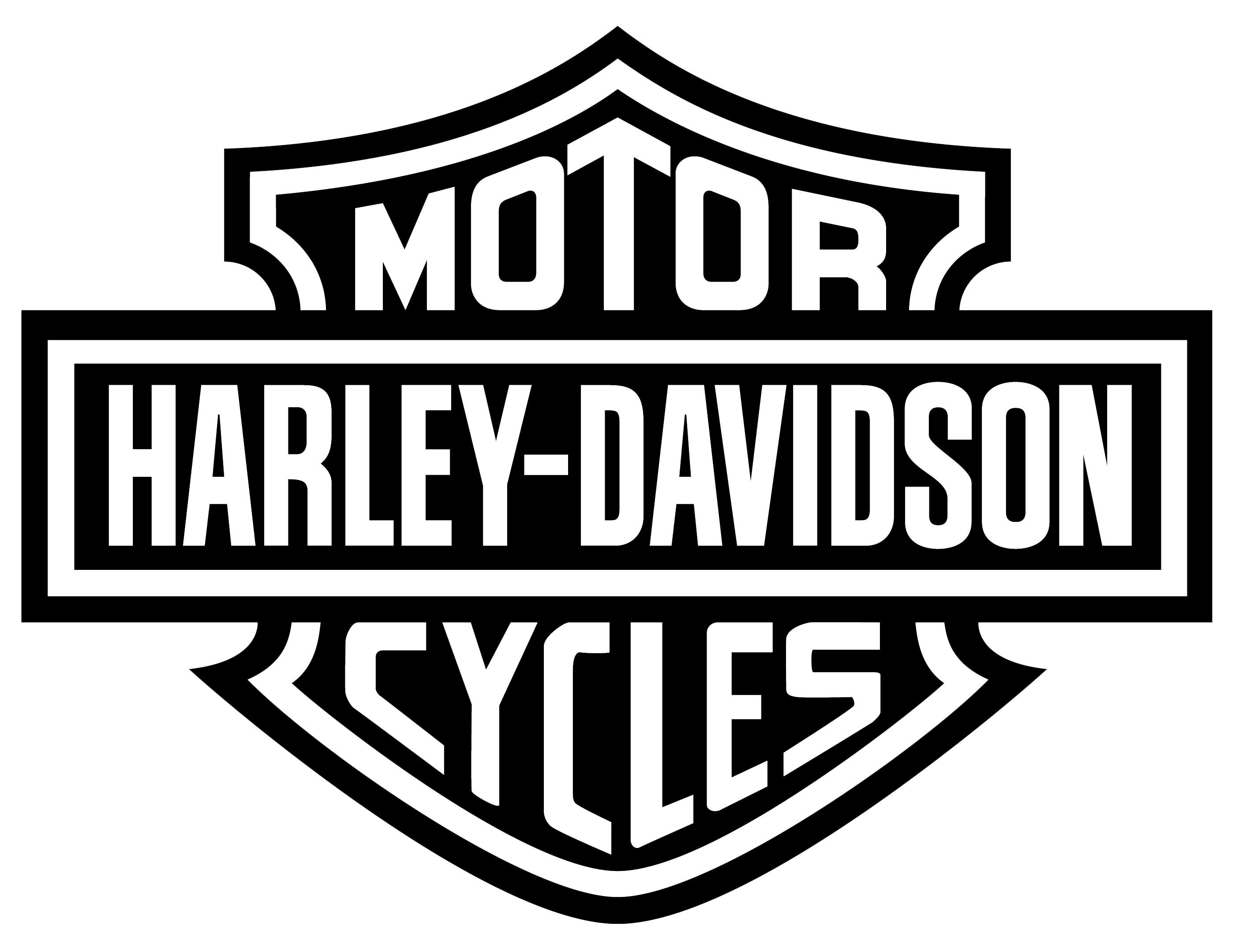Harley Davidson Log: Harley-Davidson Motorcycle Logo History And Meaning, Bike