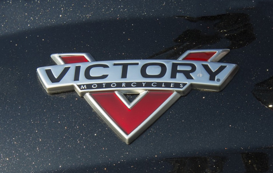 Victory Logotype on Victory Motorcycles