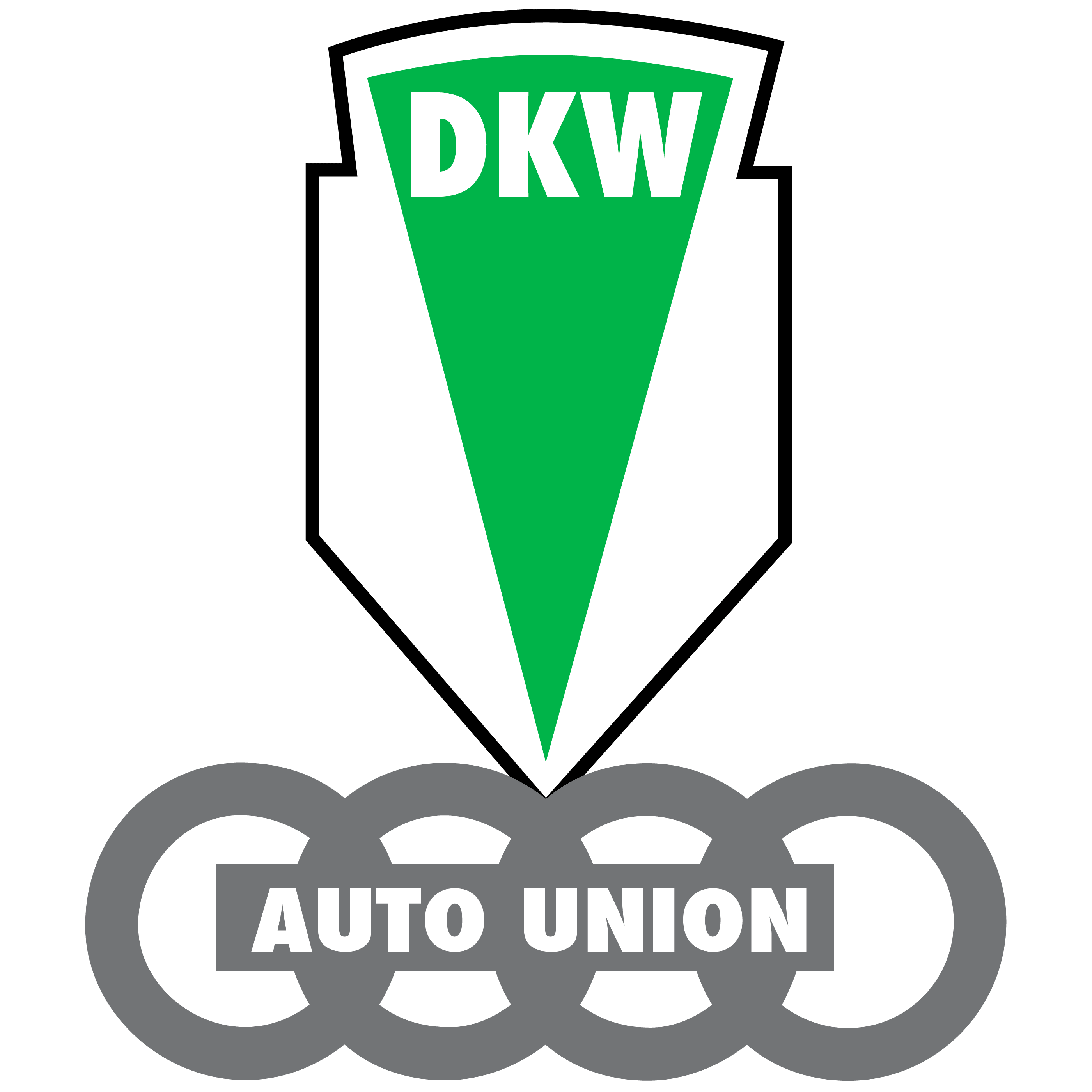 DKW Logo: History, Meaning | Motorcycle Brands