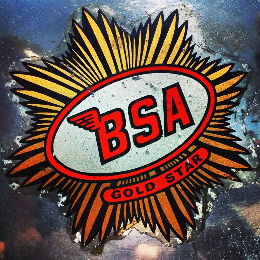 BSA motorcycle logo