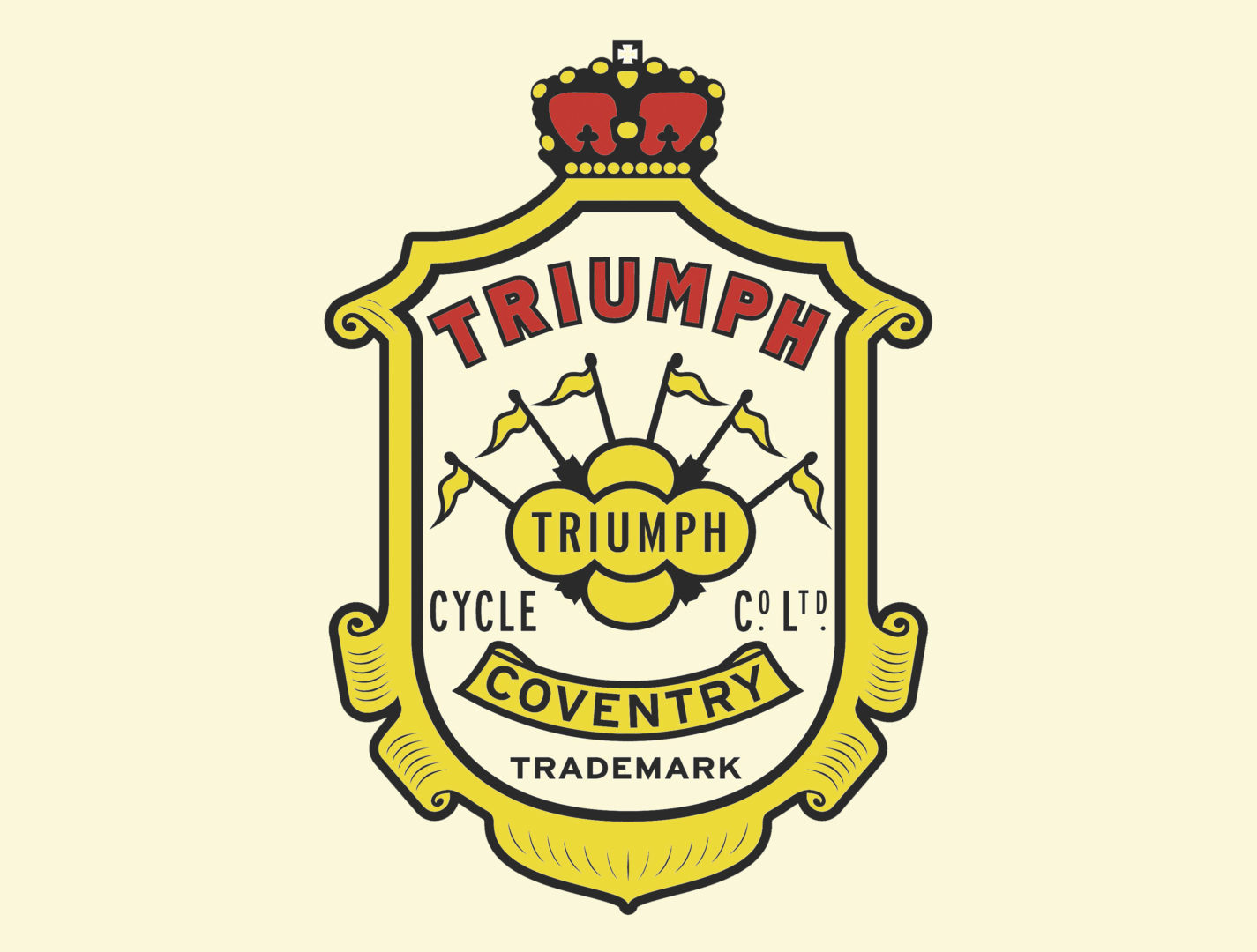 Triumph logo: history, evolution, meaning