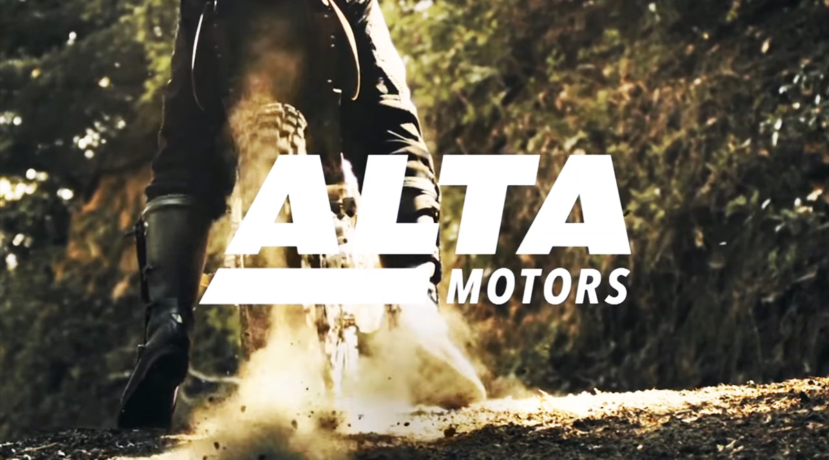 Alta Motors motorcycle logo