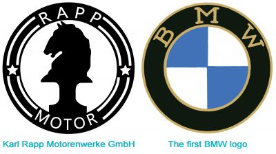 BMW and Rapp Motor Logo